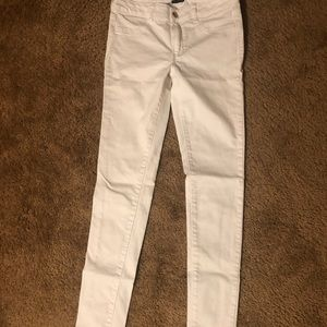 Extra Long White AE Stretch Jeans